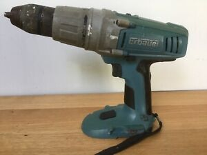Erbauer 18v Hammer Drill Bare Unit Only,  Used