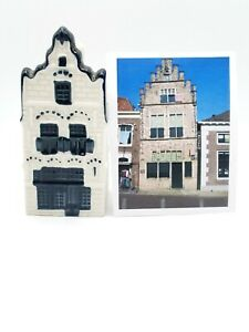 # 20 DELFT Blue KLM BOLS CANAL HOUSE Empty - Photo is Building Model (not incl)