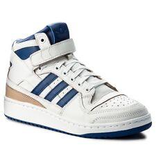 ADIDAS FORUM MID WRAP BLANC BLEU Baskets Unisex White Blue OG Sneakers BY4412