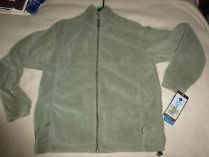 NWT Columbia Flattop Mountain II Fleece Jacket/Sweater Green Mens M