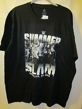 2015 WWE BLACK SUMMERSLAM T- SHIRT NWT SIZE 2XL