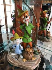 "DISNEY Parks Robin Hood & Skippy Figure Costa Alavezos Exclusive 15"" New"