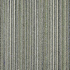 C653 Blue Green Ivory Vertical Striped Country Upholstery Fabric By The Yard