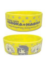 **License** Madoka Magica Homura Kyoko Group Characters PVC Wristband #88036