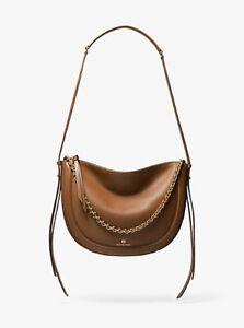 MICHAEL KORS MK NEW Large Luggage Leather Jagger Brown Bag Handbag Purse NEW