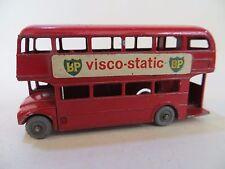 """MATCHBOX 5c Londra AEC ROUTEMASTER Bus. VINTAGE servizio regolare ruote"""". 25. buona. BIANCA GPW."""