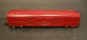 """Vintage American Flyer """"S"""" Gauge New Haven 718 Railway Express Agency Mail Car"""