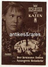 Filmprogramm: Schlosser und Katen, Nr. 11/57