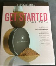 Bare Minerals Get Started Complexion Gift Set 8 Pieces Plus Bonus New and Sealed