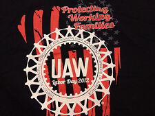 UAW UNION LABOR DAY t shirt sz XL NEW NWOT united auto workers local 163