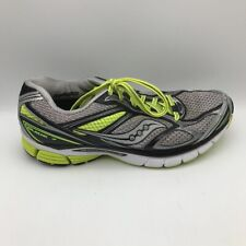 Saucony Mens Guide 7 Running Shoes Black S20227-5 Lace Up Low Top Sneakers 9.5M