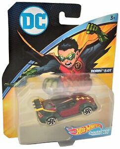 Hot Wheels DC Character Voitures Robin 2.0T Diecast FLH30