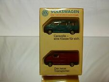 BREKINA HERPA WIKING - VW VOLKSWAGEN T4 - DER GENERATIONSWECHSEL 1:87 - GOOD