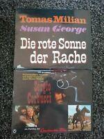 Original Kinoposter A3 : Die rote Sonne der Rache ( Thomas Milian )