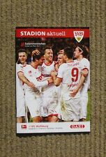 Stadion Aktuell, VFB STUTTGART: VfL WOLFSBURG, 11/12