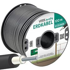 100m VOSS.farming Lead Out Electric Fence Cable 1.6mm Energiser Wire