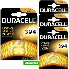 4 xDURACELL 394 1.5 V Reloj De Óxido De Plata Batería D394 V394 V524 SR45 AG9 625 SR936