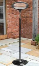 ✅ Black Free Standing Oval Patio Heater ⚡2000kw⚡ 🚚 FREE NEXT DAY DELIVERY ✅
