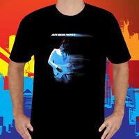 New Jeff Beck Wired Album Rock Guitarist Legend Men's Black T-Shirt Size S-3XL