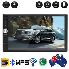 "7""HD GPS Bluetooh Car MP5 Player Navigation 2 DIN Radio Call Reversal Priority"