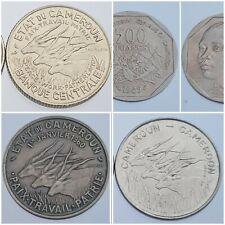 Monnaies CAMEROUN / AFRIQUE EQUATORIALE Choisissez votre monnaie 1960-2013