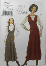 Vogue Pattern #V8410 Misses Jumper Above Ankle Length Size 8-10-12-14-16)