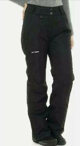 "Arctix Women's Insulated Snow Pants Black X-Large/Short 29"" Inseam"