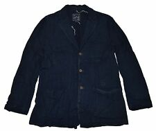 Polo Ralph Lauren RRL Mens Western Patchwork Denim Jean Blazer Navy Jacket Large