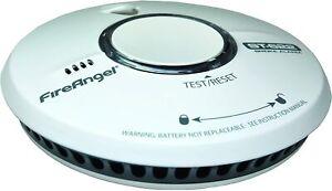 Fire Angel ST-622 Enhanced Optical Smoke Detector Thermoptek Fire Alarm Loud New