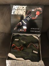 Patrick Ewing Shoes Rogue Olive/Orange Size13 Used