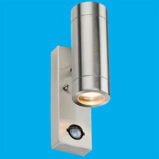 Steel Electric/Wall Plug - in LED Wall Lights