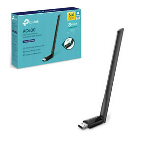 TP-Link AC600 Archer T2U Plus USB Wi-Fi Dongle High Gain 5dBi Dual Band Antenna
