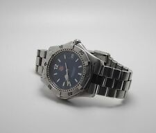 TAG HEUER WK1113-1 PROFESSIONAL UNISEX BLUE FACE WATCH