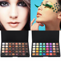 Cosmetic Powder Eyeshadow Eye Shadow Palette Makeup shimmer Set Matts 40 Colors
