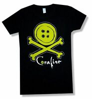 Coraline Cross Bones Other Side Girls Juniors Black T Shirt New Official