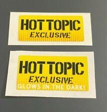 Funko Pop! Figure (Hot Topic Exclusive & Glow In The Dark) Replacement Sticker
