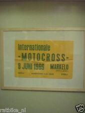 37-MARKELO MOTOCROSS  POSTER 1969