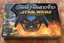 Star Wars Saga Edition Collectible Tin Box Trivial Pursuit DVD 2005 NEW/SEALED