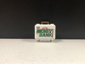 WWE Mattel Action Figure Accessory Money In The Bank Briefcase White Elite loose