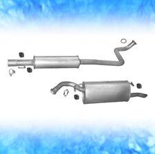 TOYOTA YARIS VERSO 1.5 77 / 78 KW 2000-2005 Auspuff Auspuffanlage Abgasanlage A5