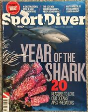 Sport Diver Year Of The Shark Reasons To Love Our Ocean Aug 2014 FREE SHIPPING