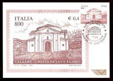 Italy 1999: cellere, Church Sant 'Egidio-Postcard Official Poste Italiane