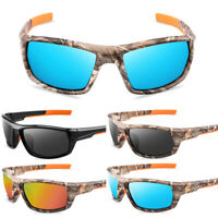 Tactical Polarized Camouflage Sunglasses Outdoor Sport Fishing Driving Glasses