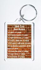 Shih Tzu Rules - 'It's Mine!' Novelty Dog Owners Keyring, Ideal Present/Gift,New
