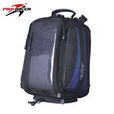 Motorcycle Bike Rucksack Luggage Waterproof Bag Pannier Magnetic Tank Pad Travel