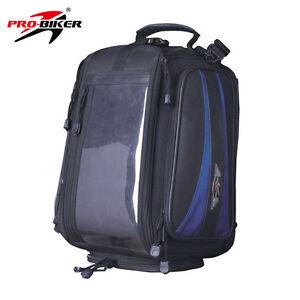 Motorcycle Bike Rucksack Luggage Waterproof Pannier Lifetime Tank Pad Travel