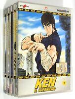 DVD KEN IL GUERRIERO VOL. 1-5 (Episodi 1-20) Animazione DeAgostini Yamato Video