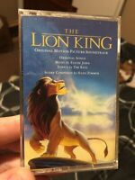 The Lion King Soundtrack 1994 Disney USA Cassette Tape *SEALED* ***NEW***
