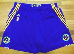 ADIDAS AUTHENTIC WNBA LOS ANGELES SPARKS REVOLUTION 30 GAME SHORTS SIZE 3XL nba