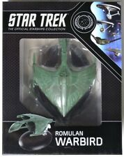 ESAR1500. Star Trek The Official Starships Collection ROMULAN WARBIRD NIB (2017)